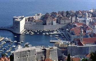 Dubrovnik - Saint Jean Fort and the harbour